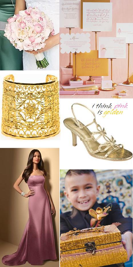 Pink-gold
