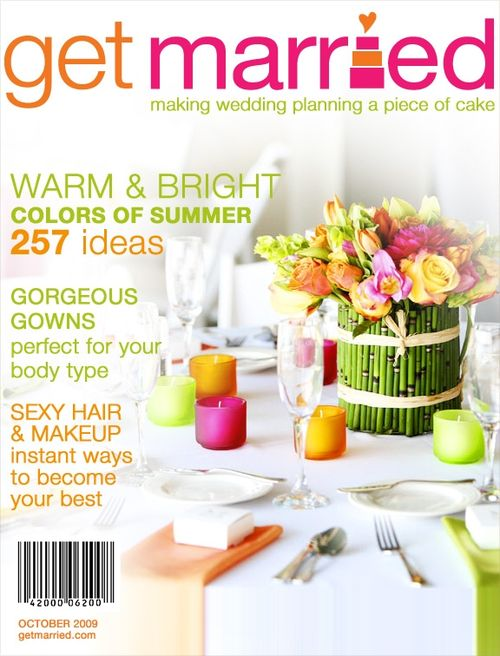 Get Married Magazine_Mock Cover