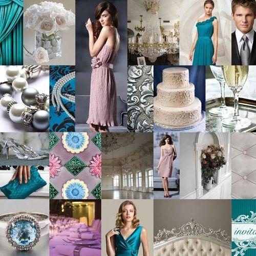 Dessy-pantone-style-boards-blue-teal-aqua-silver-lavendar